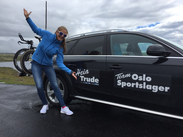Trude Stormo klar for Norseman 2016