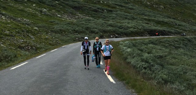Trude Stormo nærmer seg Stavsro Norseman