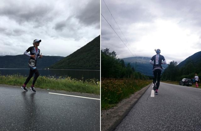 Trude Stormo på løp Norseman 2016