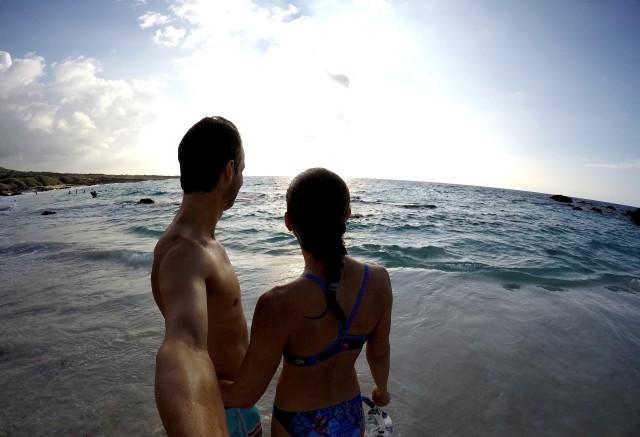 trude-og-lars-petter-kua-bay-hawaii-happytimes